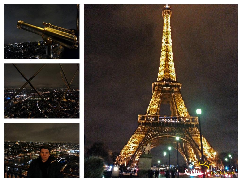 Impresii din Paris - Parisul la inaltime