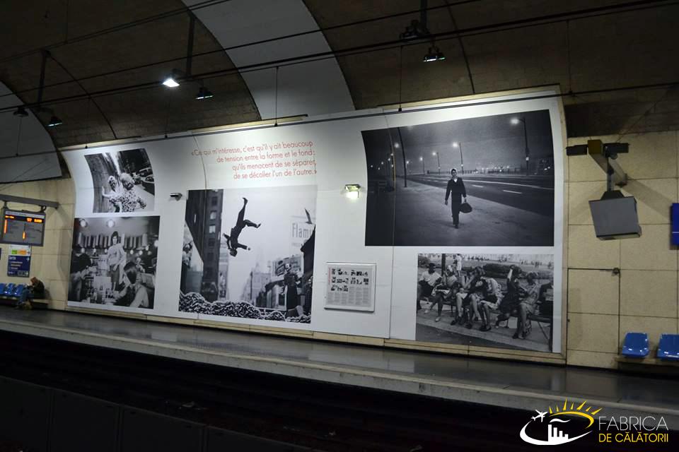 Impresii din Paris - mergi cu metroul