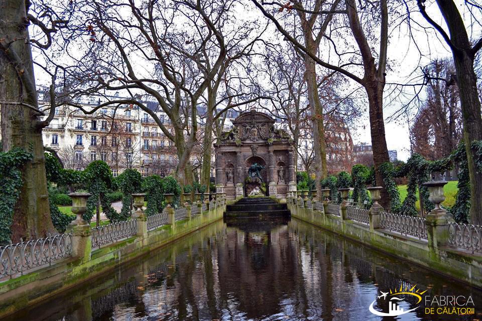 Impresii din Paris - parcuri