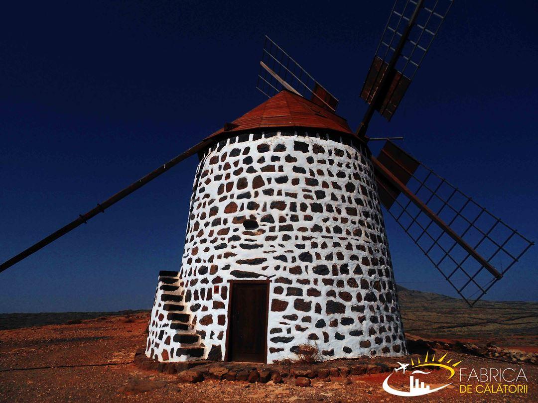 Insulele Canare(3): Morile de vânt din Fuerteventura
