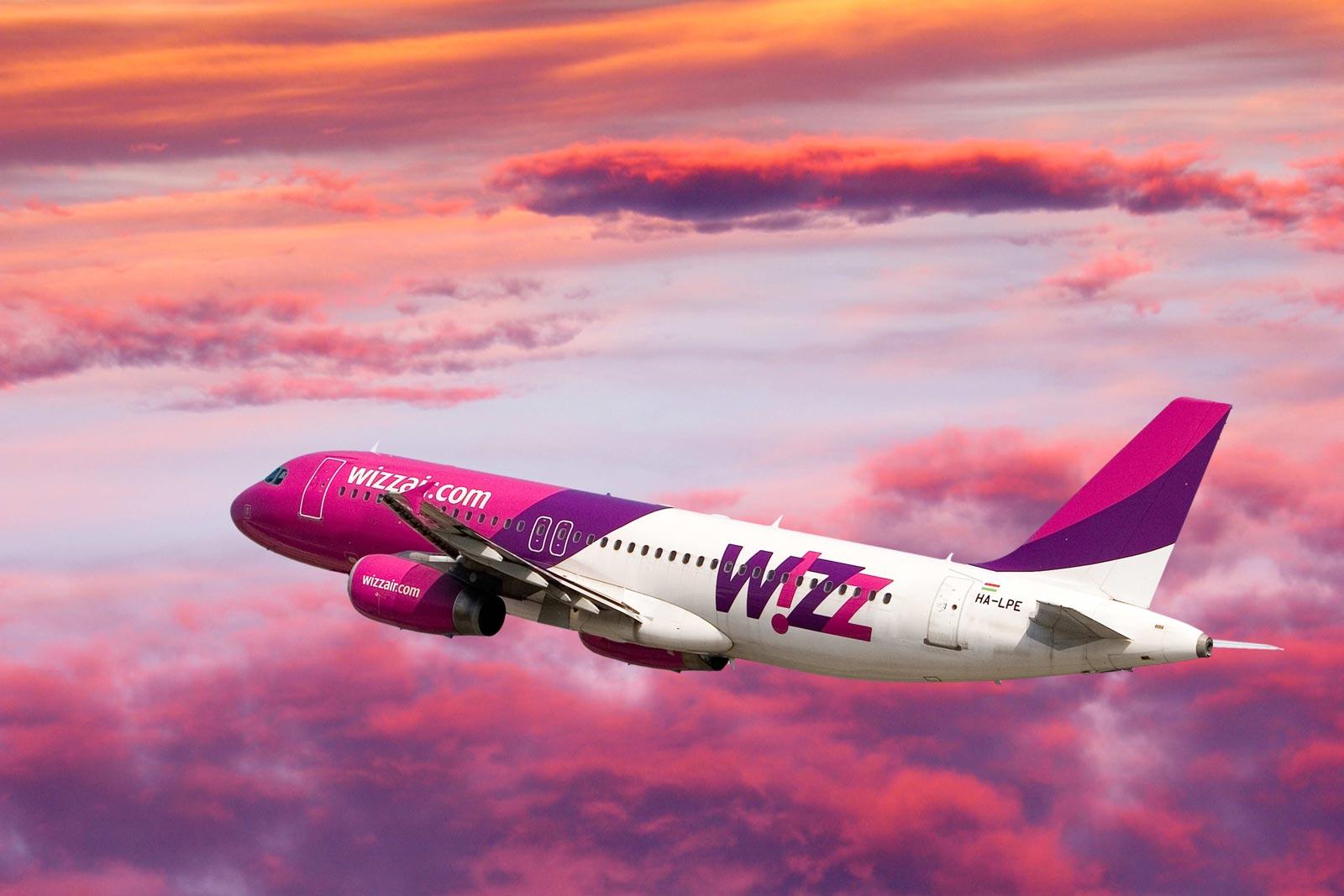 Reducere 20% la Wizz Air