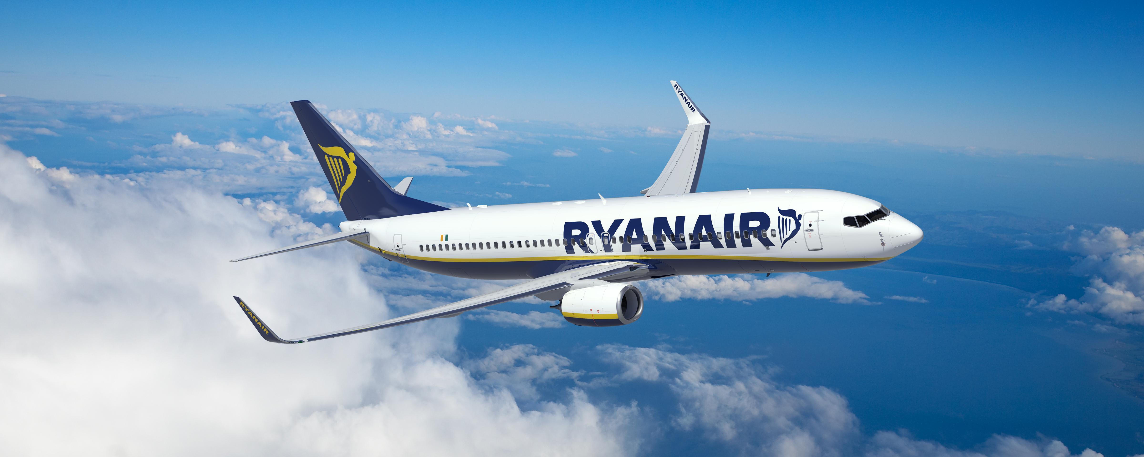 Ryanair a anunțat zboruri noi din România!