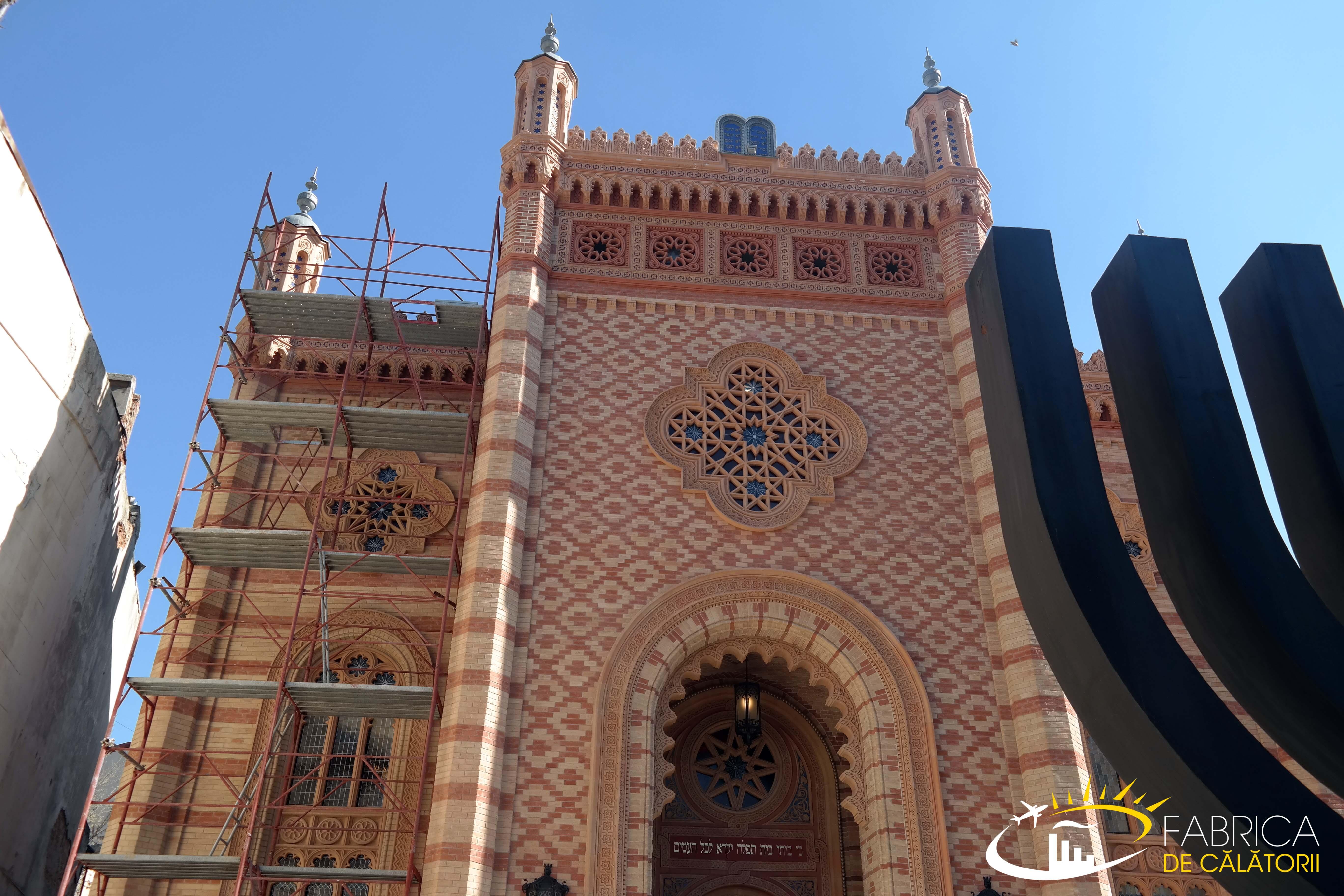 Turul sinagogilor din București