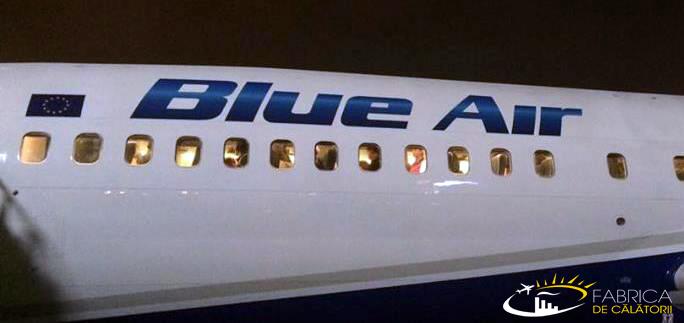 Blue Air lansează, în premieră, ruta internă București-Iași!