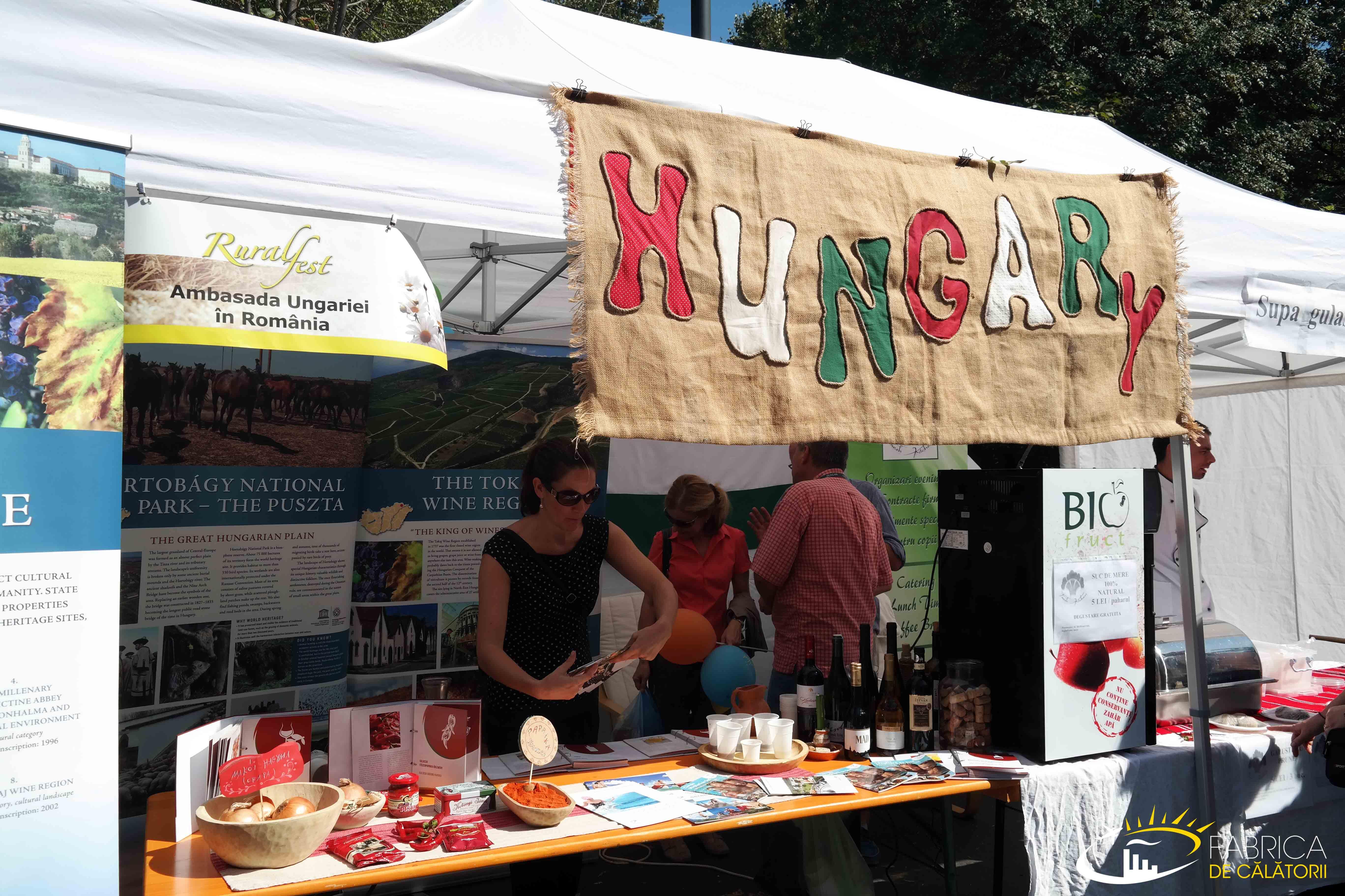 Standul Ambasadei Ungariei