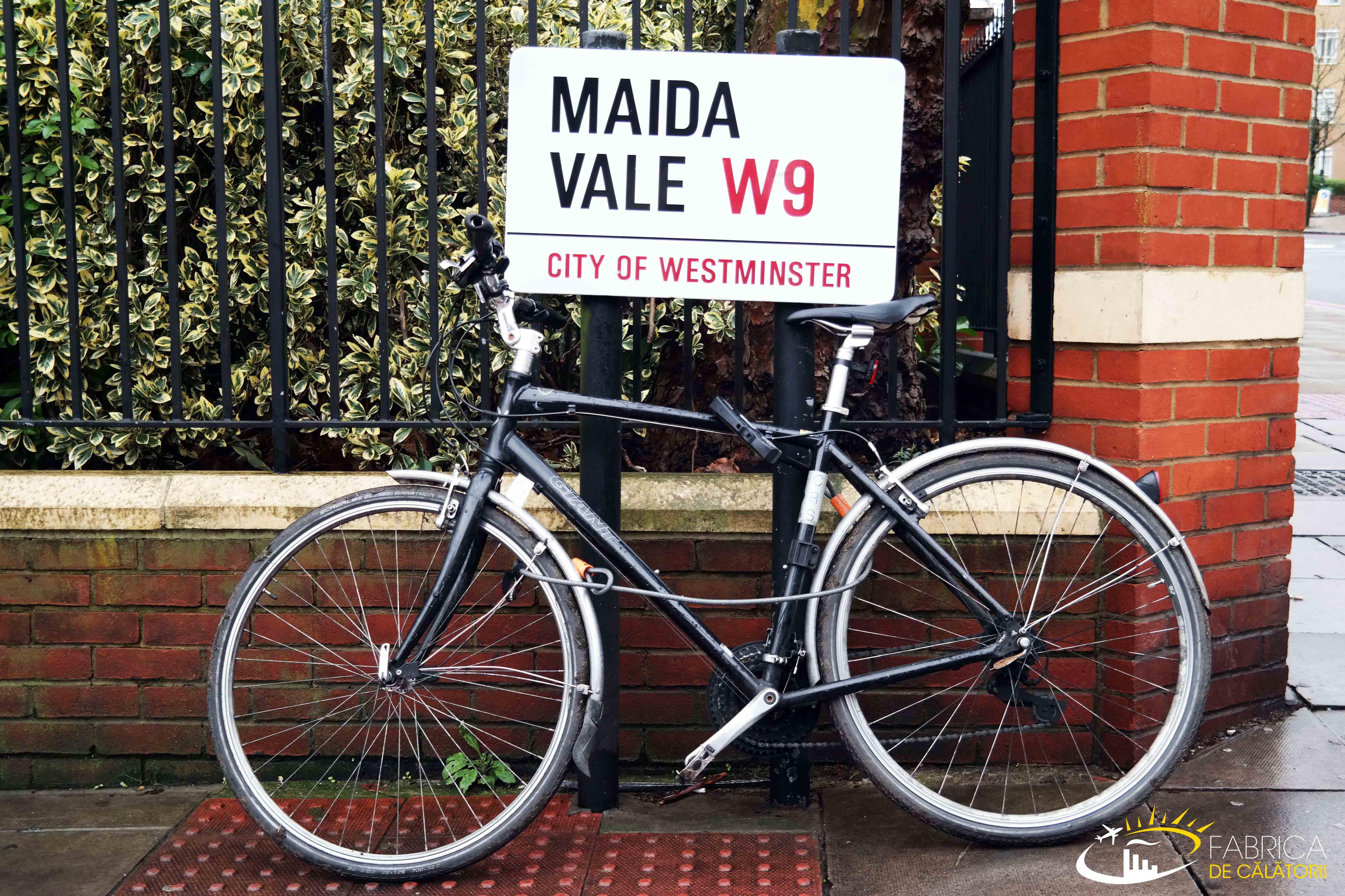 La plimbare prin cartierul londonez Maida Vale