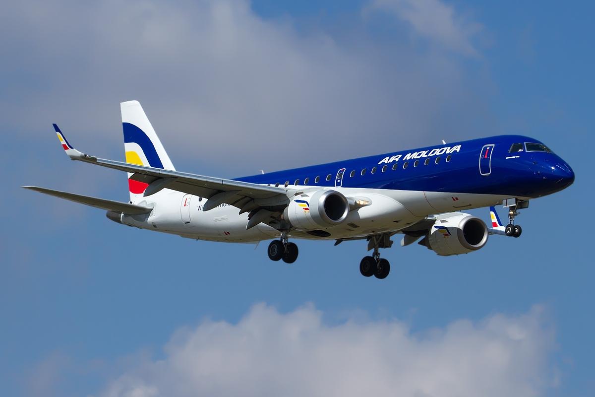 Air Moldova reintroduce ruta Chișinău-București din 19 decembrie